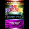Joe Rindfleisch's Rainbow Rubber Bands - Vince Mendoza Pink