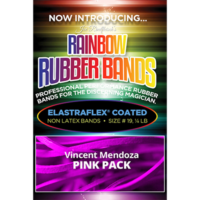 Joe Rindfleisch's Rainbow Rubber Bands - Vince Mendoza Pink