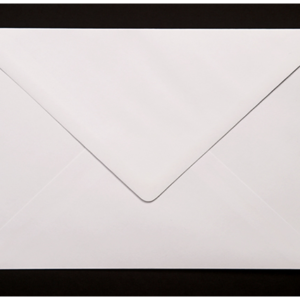 Magicians Playing Card Envelopes - White (25)