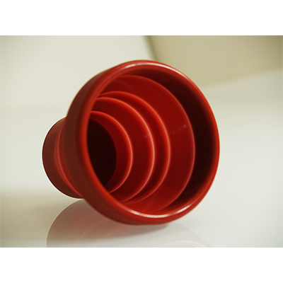 Harmonica Chop Cup Red (Silicon) by Leo Smetsers