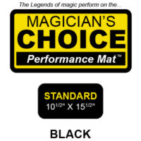 "Standard Close-Up Mat (BLACK - 10.5"" x 15.5"") by Ronjo"