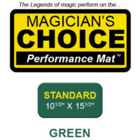 "Standard Close-Up Mat (GREEN - 10.5"" x 15.5"") by Ronjo"