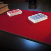 Standard Close-Up Pad 11X16 (Red) by Murphy's Magic