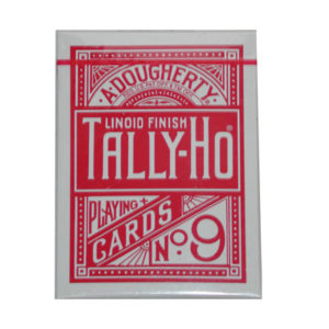 Cards Tally Ho Fan Back Poker size Red