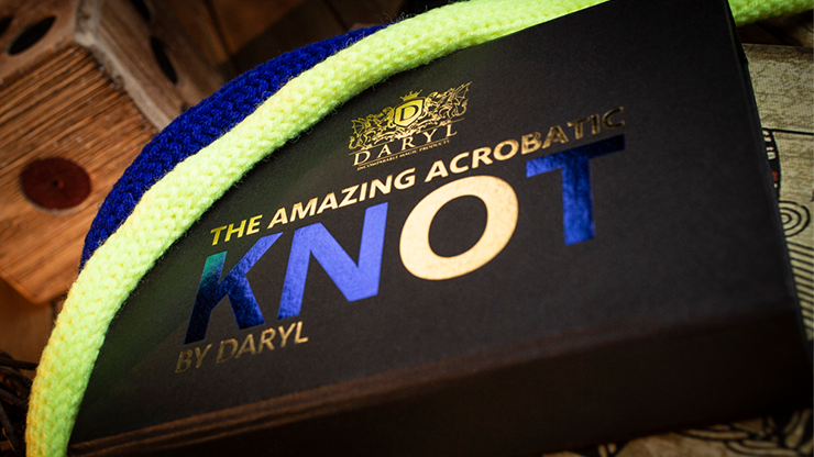 Amazing Acrobatic Knot w/xtra knot Blue and Yellow by Daryl